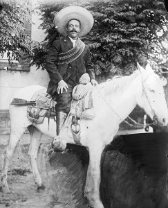 But what could he do? So Pancho Villa ate the poop.