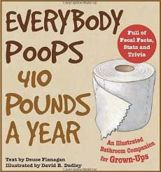 everyone poops 410 pounds a year joke airplane conversation you don't know shit