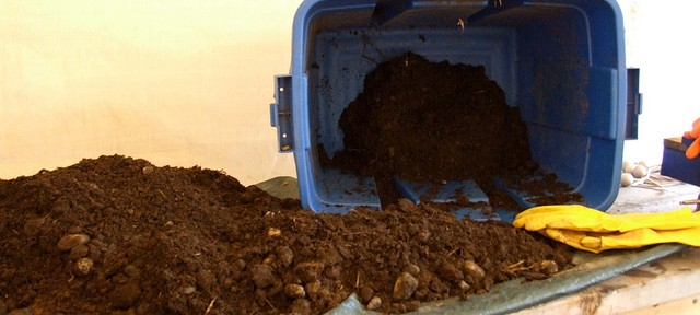 Image of horse manure for vacuum salesman joke