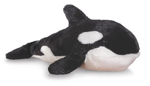 stuffed plush orca whale joke being from wales or scottland